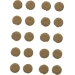 Diverses pièces de rechange pour les montres et les montres de poche